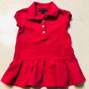 Tommy Hilfiger Pink Dress 12 Months Size